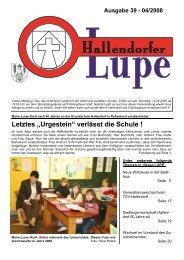 """Letztes """"Urgestein"""" verlässt die Schule ! - SPD-Hallendorf"""