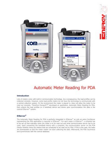 Automatic Meter Reading : Water meter reading home record
