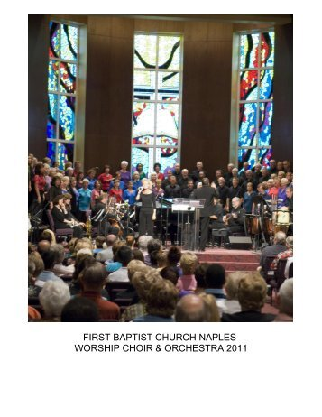 Church Directory - FBC Naples FL