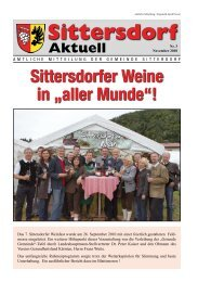 Candle Light Dinner Exquisiter Fischabend ... - Gemeinde Sittersdorf