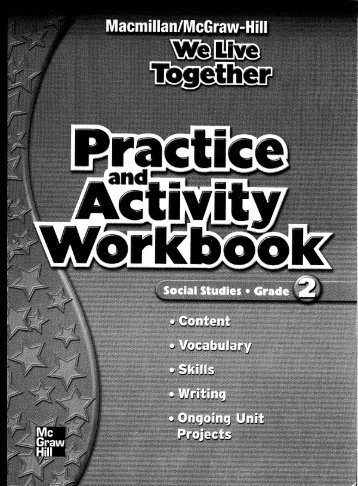Grade 2 Practice and Activity Workbook - Macmillan/McGraw-Hill