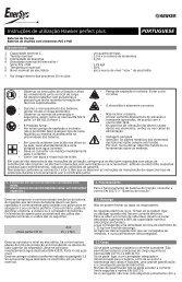 PORTUGUESE Instruções de utilização Hawker ... - EnerSys-Hawker