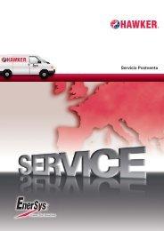 16366 Hawker Service Brochure e.indd - EnerSys-Hawker
