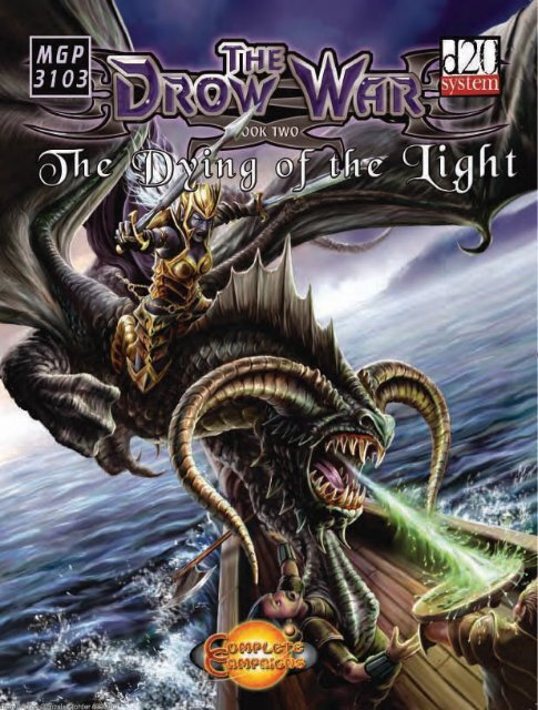 The Drow War Book Two. The Dying Of - RoseRed