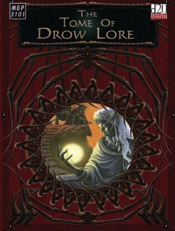 The Tome Of Drow Lore.pdf - RoseRed