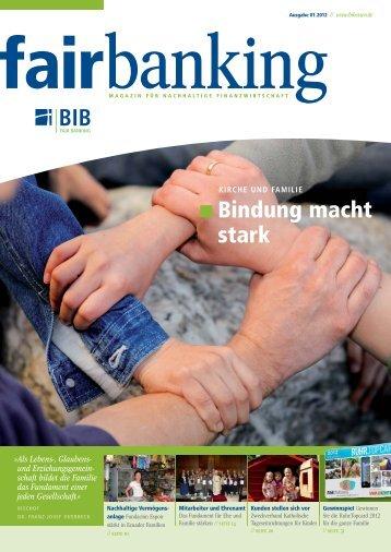 fairbanking 1-2012 - Bank im Bistum Essen