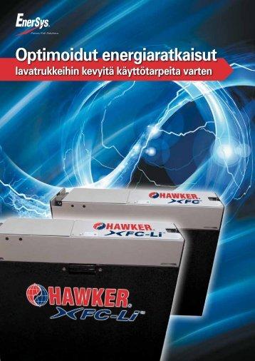 Optimoidut energiaratkaisut - EnerSys-Hawker