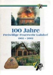 FF Chronik - Freiwillige Feuerwehr Luhdorf