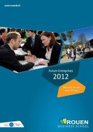 Présentation de l'entreprise - Rouen Business School