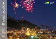 ANGEBOTE MIT RAHMENPROGRAMM - Engadin St. Moritz