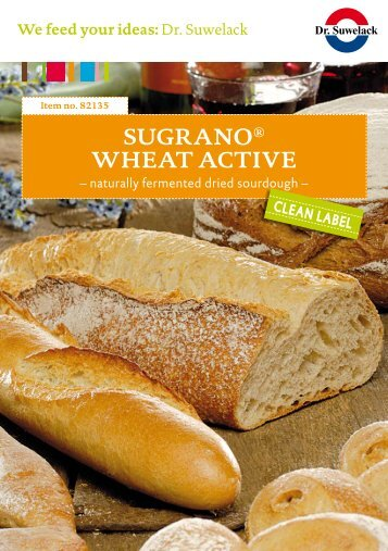 Sugrano® Wheat actIve - Dr. Suwelack