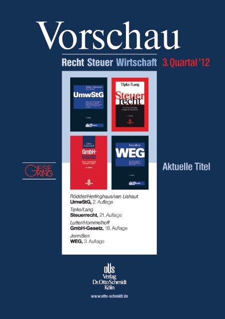 Untitled - Verlag Dr. Otto Schmidt