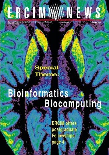 Bioinformatics Biocomputing - Ercim