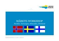 Märkte-Workshop Skandinavien - Engadin St. Moritz