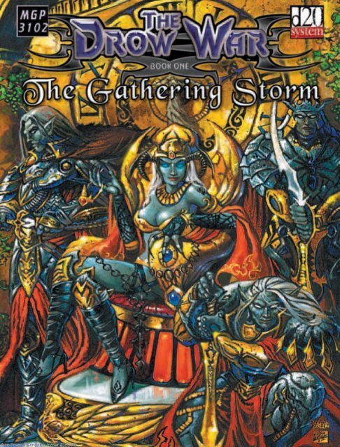 The Drow War Book One  The Gathering Storm - RoseRed