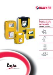 Lifetech - EnerSys-Hawker
