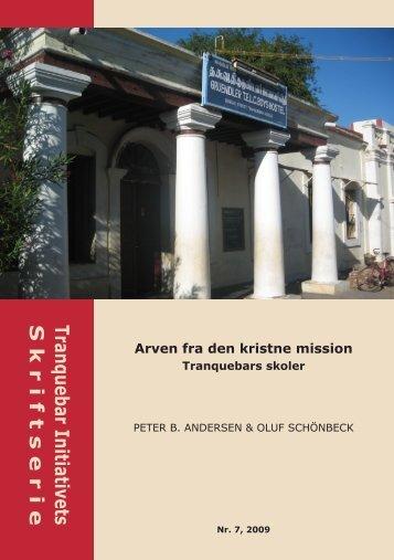 Arven fra den kristne mission - Tranquebars skoler - Nationalmuseet