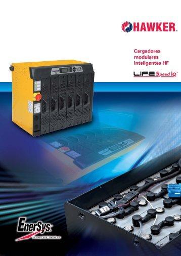 Cargadores modulares inteligentes HF - EnerSys-Hawker