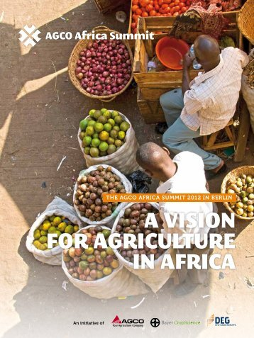 "Review Brochure: ""A Vision for Agriculture in Africa - Africa Summit"