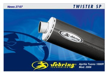 Aprilia Tuono 1000R Mod. 2006 - Sebring