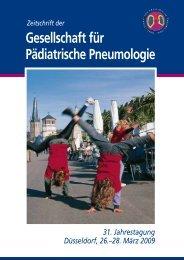 pdf download hier... - Gesellschaft für Pädiatrische Pneumologie