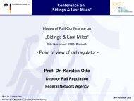 Prof Dr Otte - German Federal Network Agency - UIP