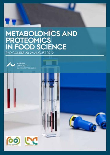 metabolomics and proteomics in food science - LMC food