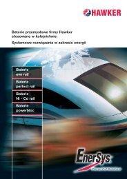 Baterie Hawker evo rail - EnerSys-Hawker