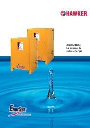 15980 Prospekt Aquafree fr.qxp:Prospekt Aquafree - EnerSys-Hawker