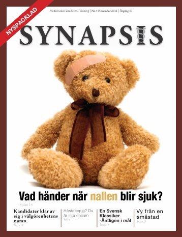 Vad händer när nallen blir sjuk? - Synapsis