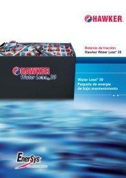 Más tiempo de funcionamiento, intervalos más ... - EnerSys-Hawker