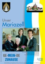 Ausgabe Oktober 2009 - Stadt Mariazell