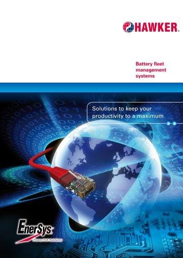 Download of sales brochure - EnerSys-Hawker