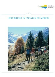 Escursioni - Engadin St. Moritz