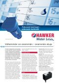 16089 Pros. Water Less fin.QXP:Hawker ... - EnerSys-Hawker - Page 2