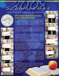 Scholarships 2008 - Iowa Grocery Industry Association