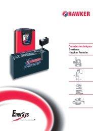 Téléchargement des caractéristiques techniques - EnerSys-Hawker