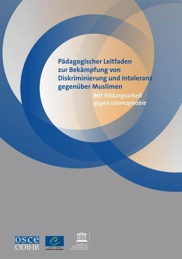 Pädagogischer Leitfaden zur Bekämpfung von ... - unesdoc - Unesco