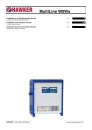 MultiLine W0Wa - EnerSys-Hawker