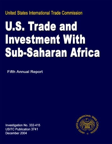 Southern African Development Community - United States ...