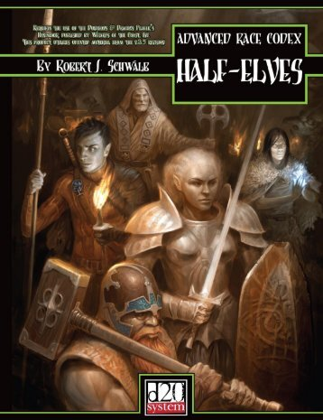 Advanced Race Codex. Half-Elves.pdf - RoseRed