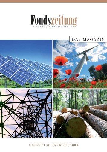Weltweites Wachstum - Deutsche Zweitmarkt AG