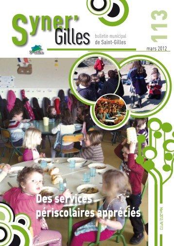 Syner´Gilles mars 2012 - Saint-Gilles
