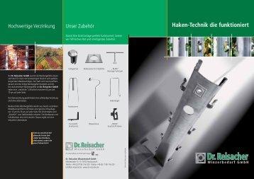 und Produktbroschüre von Dr. Reisacher Winzerbedarf - Hahn und ...