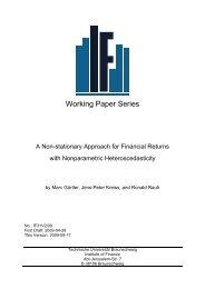 Working Paper Series - Technische Universität Braunschweig