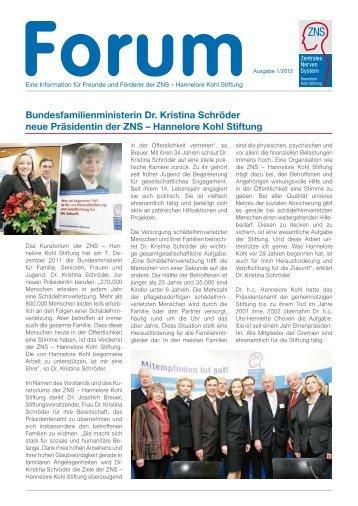 Bundesfamilienministerin Dr. Kristina Schröder neue Präsidentin ...