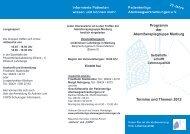 Programm Marburg - Patientenliga Atemwegserkrankungen e.V.