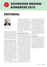 PrograMM - Verband Schweizer Presse