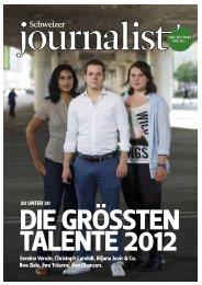 Schweizer - Junge Journalisten