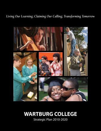 Claiming Our Calling - Wartburg College
